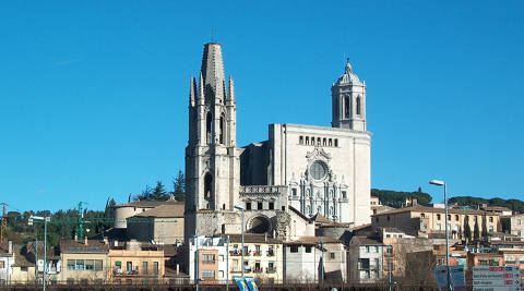 Girona Cathedral and the Basilica of Sant Feliu